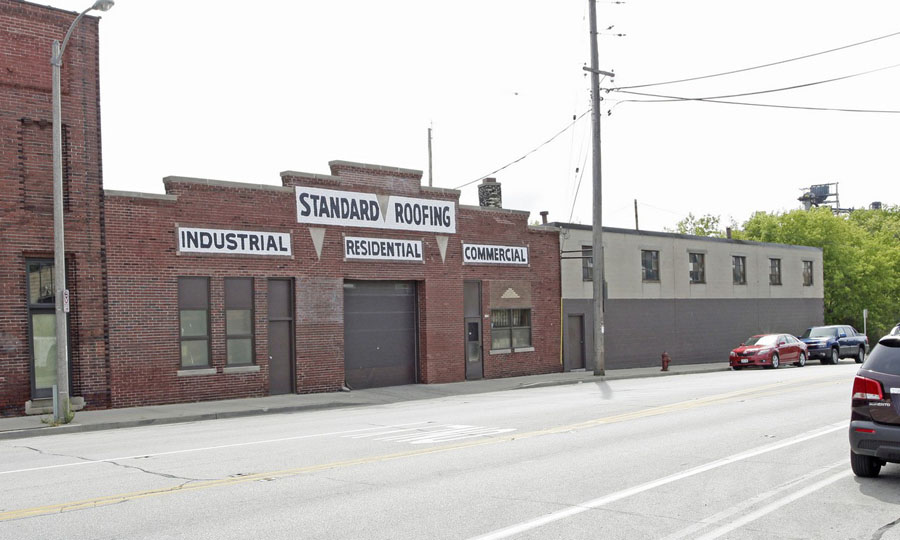Standard Roofing Building at 1820 S. Kinnickinnic Ave